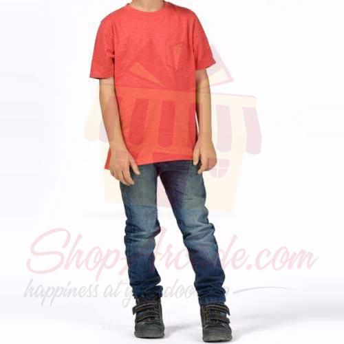 Red TShirt By (Khaadi)