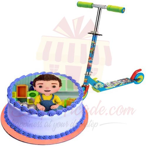 Scooty With Jan Cake