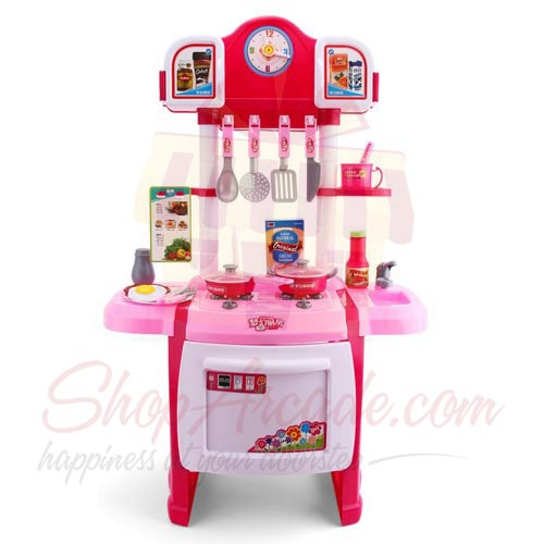 Send Kids And Toys Kitchen Set Gift To Pakistan Item 4191