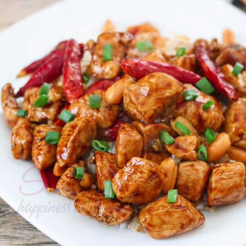 Kung Pao Chicken By Ginsoy
