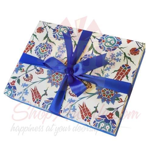 Blue Iznik Box (20 Pcs) - Lals