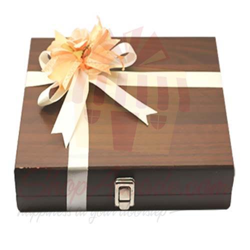 Luxury Wooden Box (20 Pcs) - Lals
