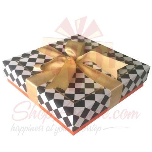 Orange Check Box (16 Pcs) - Lals