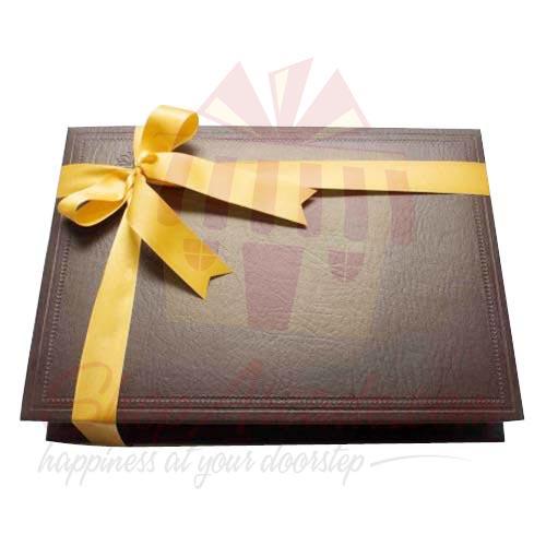 Brown Leather Box (24 Pcs) - Lals