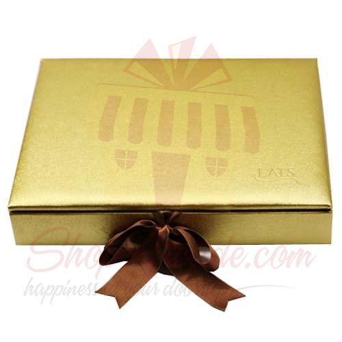 Golden Leather Box (20 Pcs) - Lals
