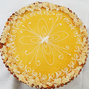 Lemon Tart Cake 4 lbs From Tehzeeb Bakers