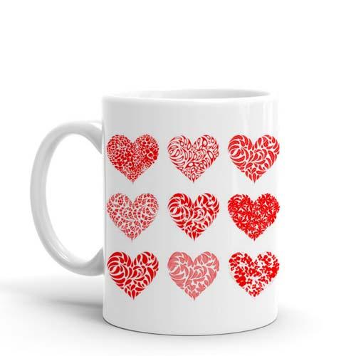 Different Hearts Mug