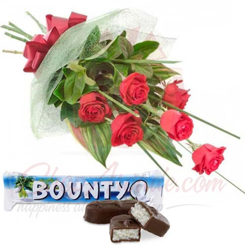 Bounty With Roses