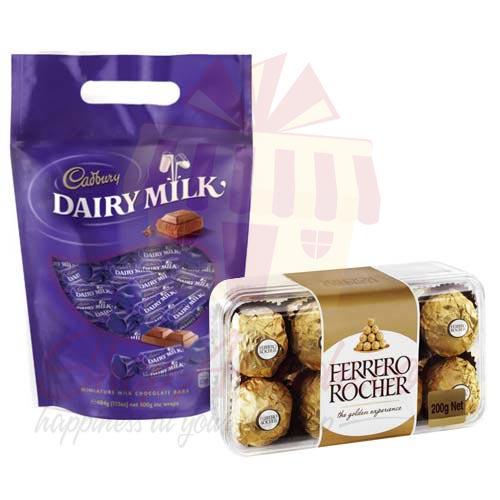 Ferrero With Cadbury Pouch