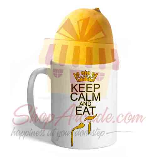 Keep Calm And Eat Aam