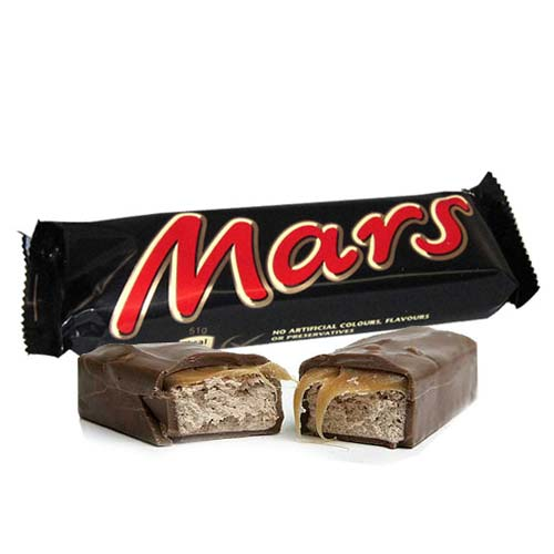 Mars Chocolates 24 Bars 50 gms each