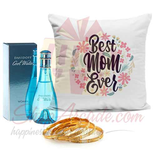 Perfume Kangan And Cushion (For Mom)