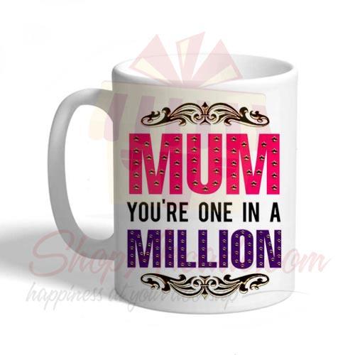 Mum 1 In Million Mug