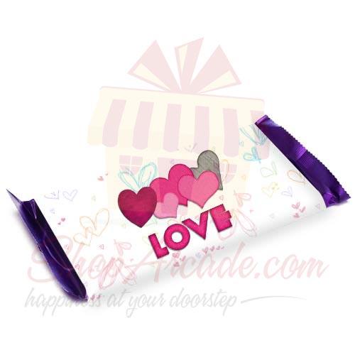 Love Heart Chocolate