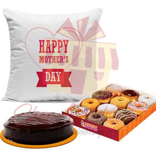 Cake Donut Cushion:Combo Includes