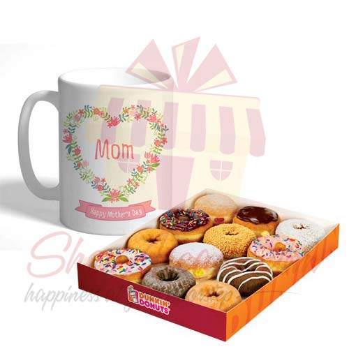 Mom Mug With Donuts