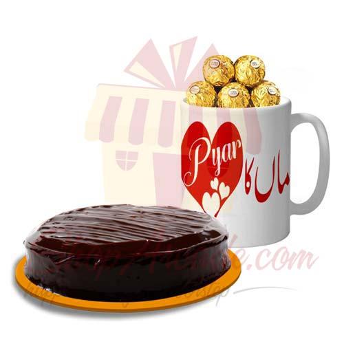 Maa Choco Mug With Cake