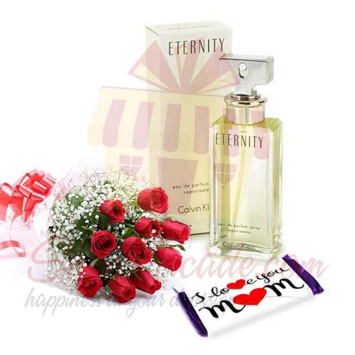 Eternity Choc Roses