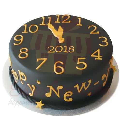 New Year Cake 4lbs-Sachas
