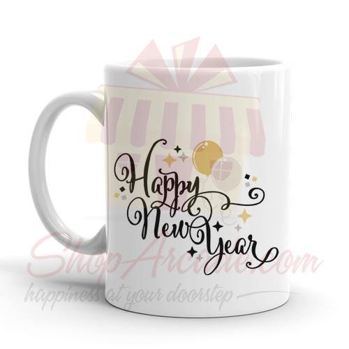 Happy New Year Mug 02