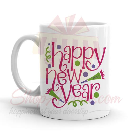 Happy New Year Mug 04