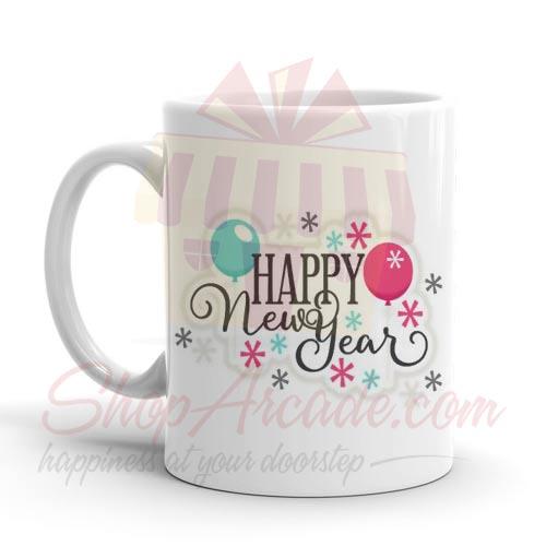 Happy New Year Mug 07