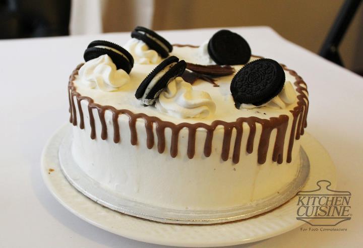 Oreo ice cream Cake 2lbs from Kitchen_Cuisine
