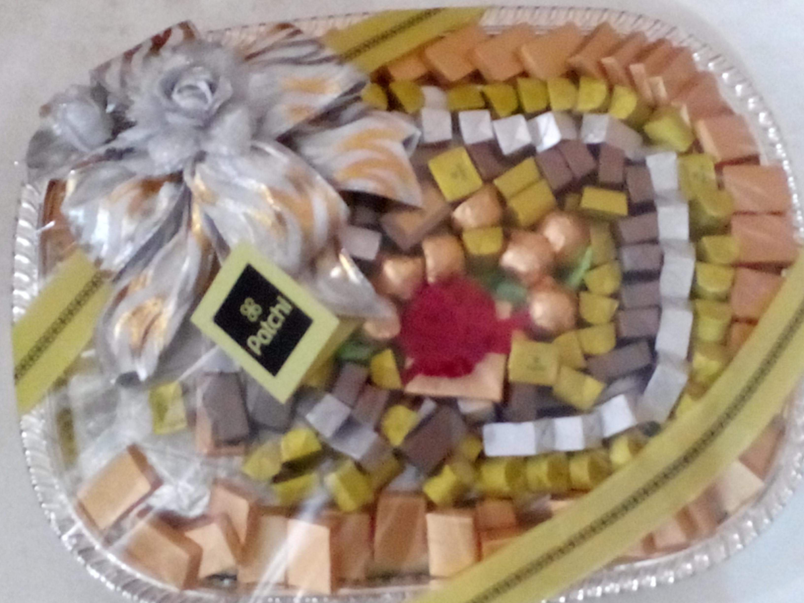 Patchi Round Platter Mix 1000 Grams Patchi Chocolate