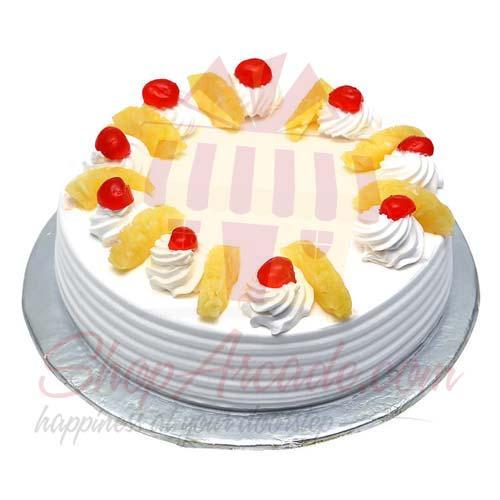 Pineapple Cake - My New Italian Bakery