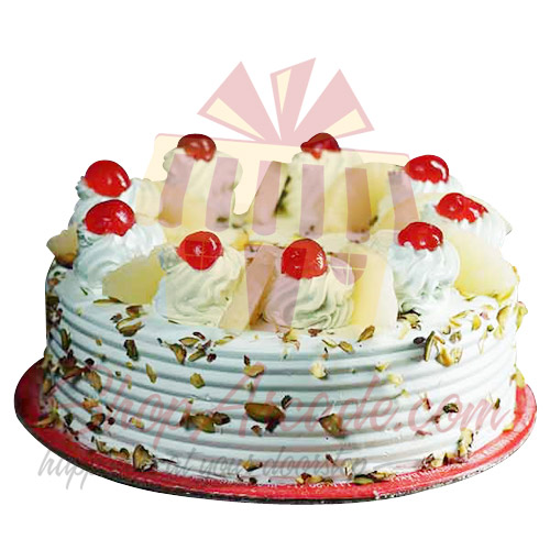 Pineapple Pista Cake 2Lbs - Cake Lounge