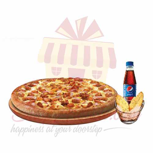 Send Pizza Delivery Wow Deal Regular Pizza Hut Gift To Pakistan Item 9275