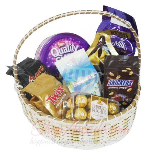 Chocolate Basket Large