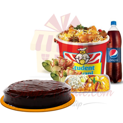 Biryani Family Pack With Cake