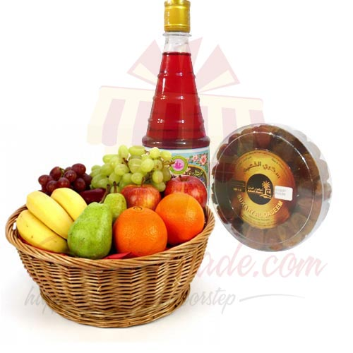 Fruits, Dates and Rooh Afzah