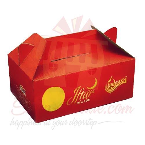 Iftari Box For Sadqa (10 Boxes)
