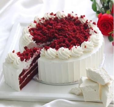 Red Velvet Cake 2lbs From Movenpick