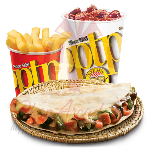 Roti Wrap Combo - OPTP