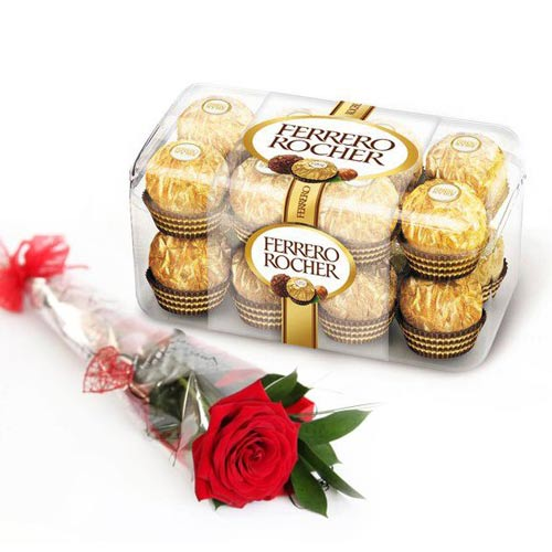 Ferrero With Imported Rose