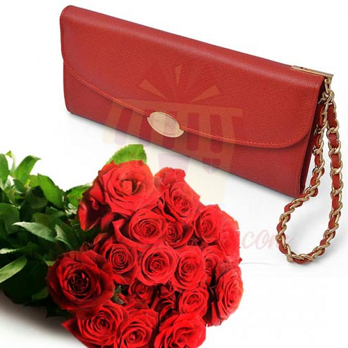 Wallet With Roses