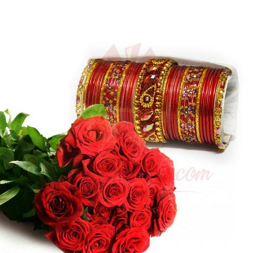 Choori With Roses