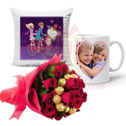 Ferrero Bouquet Cushion N Mug