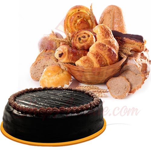 bread-basket-with-chocolate-cake