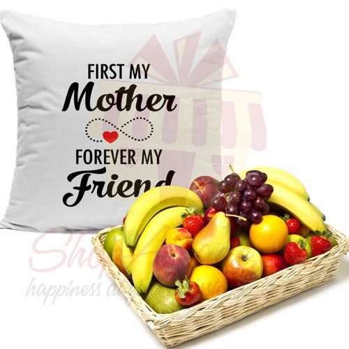 Fruits With Mom Cushion