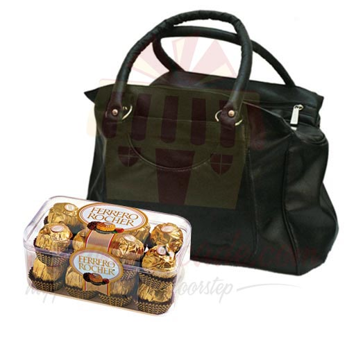 Handbag With Ferrero