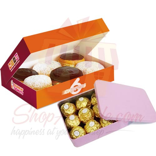 Chocs With Donuts