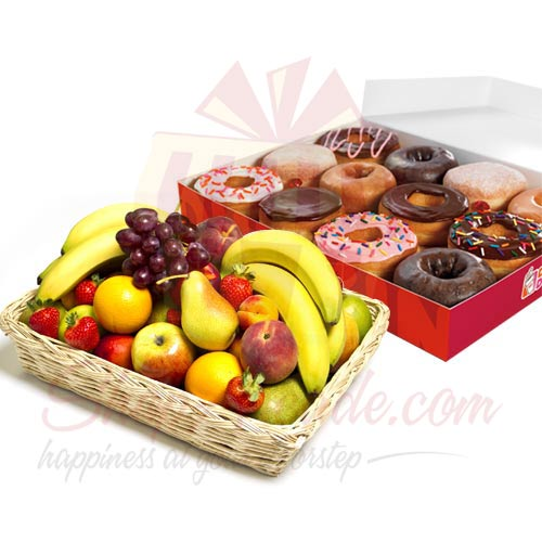 Donuts With Fruits