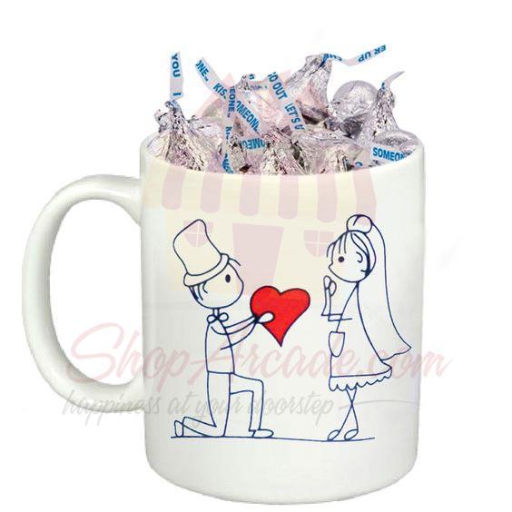 Kisses In A Love Mug