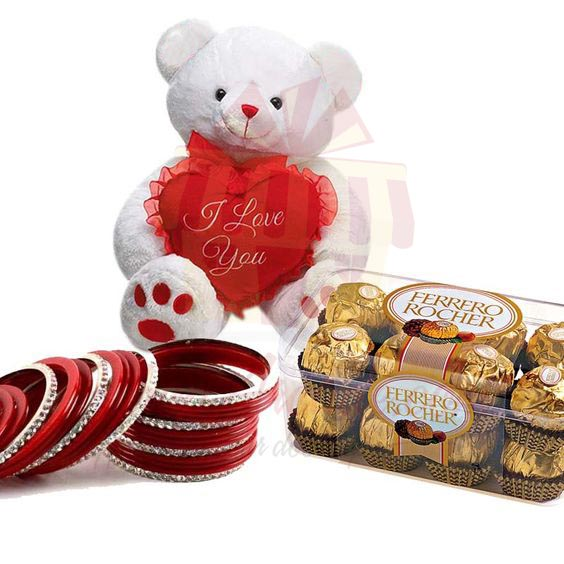 Choori With Teddy n Chocs