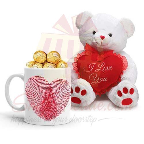Ferrero Mug With Love Bear