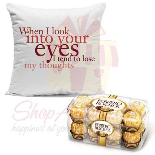Ferrero With Cushion
